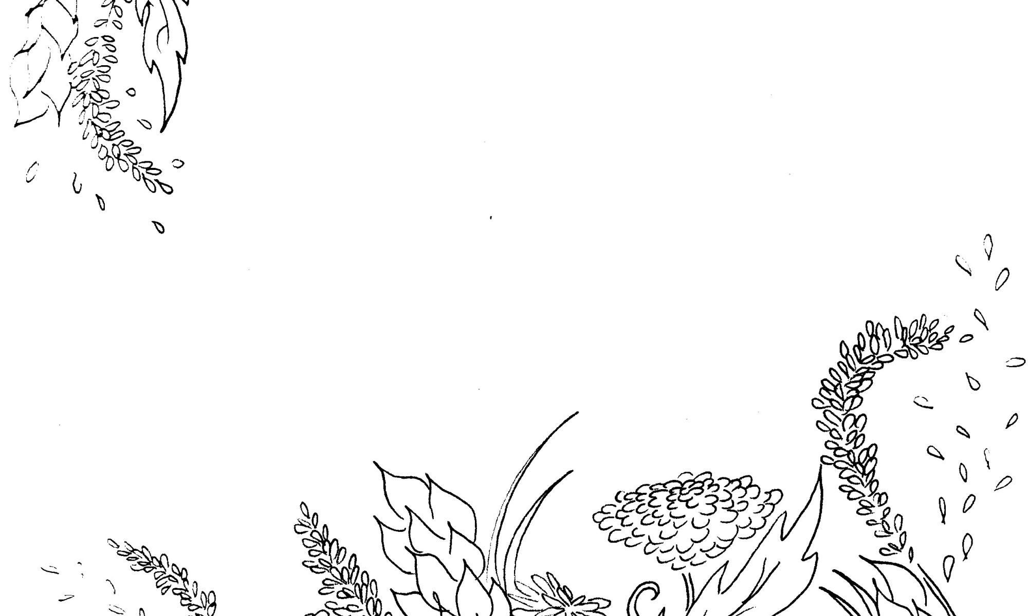 Wildflowers Coloring Page Madelyn Janelle